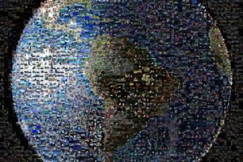 A Worldwide Photo Mosaic