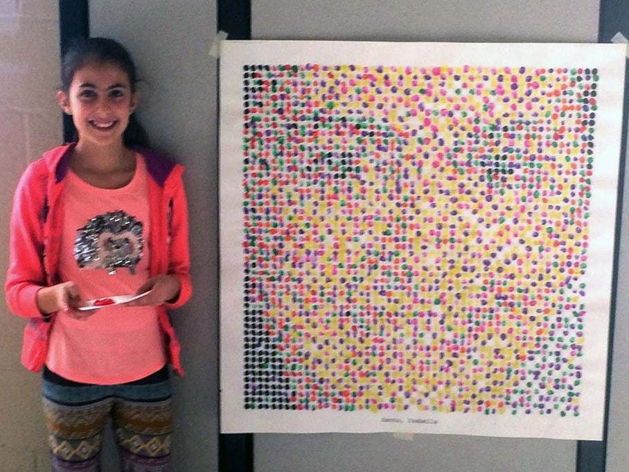 Thumbprint Mosaics
