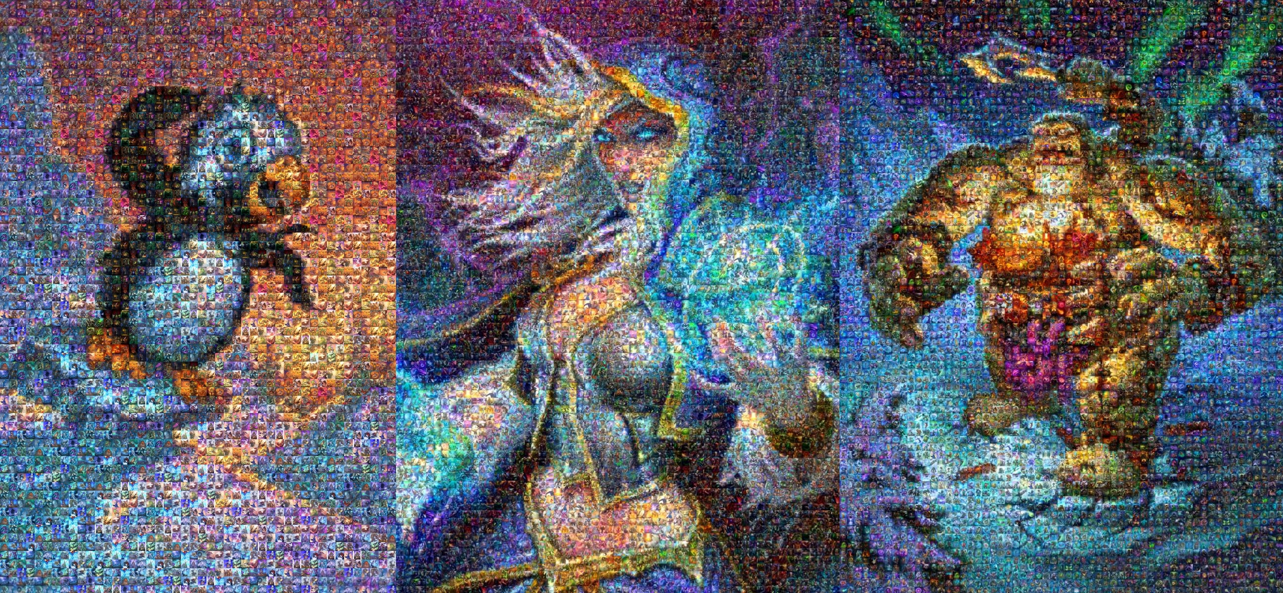 Hearthstone photo mosaic